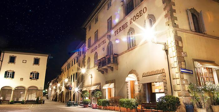 Fahrrad grand hotel terme roseo bagno di romagna italien